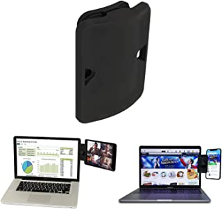 Side Mount Clip for Dual Monitor, Dual Display iPad Monitor Mount and Tablet Stand Mount for Your Laptop, Instant Second D...