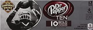 Dr Pepper 10, 12 PK, 12 Fl oz Cans