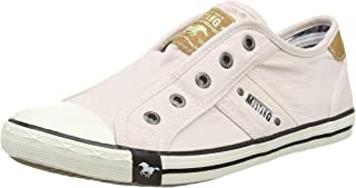 MUSTANG 1099-401 Washed Canvas Slip On