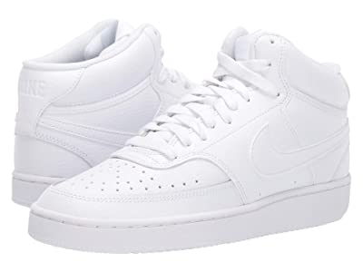 Nike Court Vision Mid (White/White/White) Women