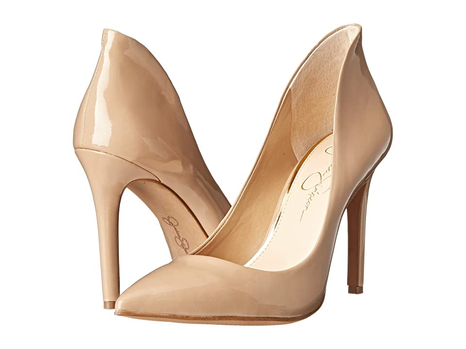 Jessica Simpson Cambredge (Nude Patent) High Heels