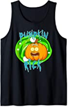 Pumpkin Rick Halloween Costume Tank Top