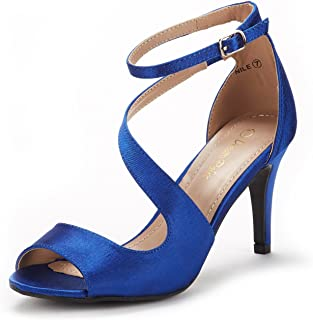 Women's Nile Fashion Stilettos Open Toe Pump Heel Sandals
