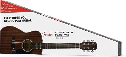Fender CC-60S V2 Mahogany Acoustic Guitar Pack