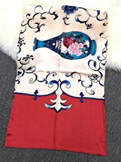 HWJND Coperta Sciarpa Maglione Cardigan Scialle di Pelliccia da Sposa con Triangolo di Nappe di Pelliccia di Coniglio Fatto a Mano in Autunno e in Inverno @ Navy Blue/_One Size