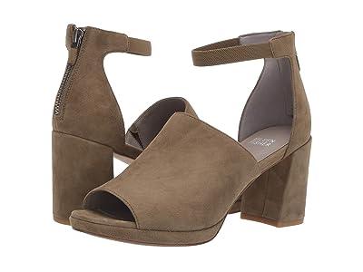 Eileen Fisher Matty (Olvine Suede) High Heels