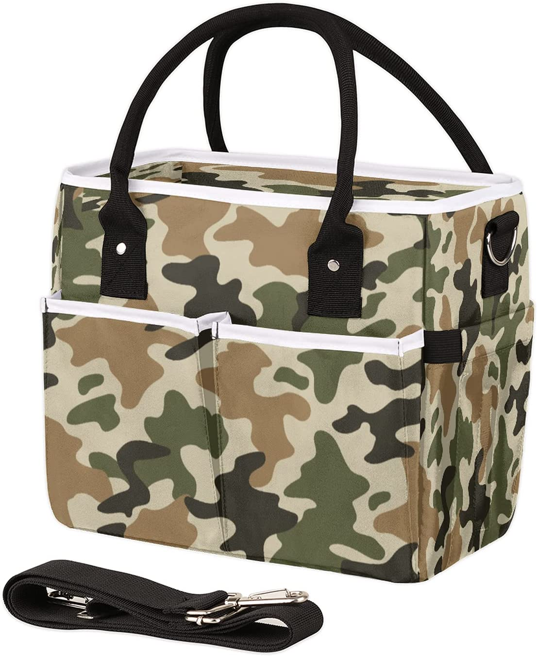 Insulated Lunch At the price Bag for Women half Camo Men Pattern Leakproof Reusabl