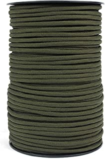 100M Parachute Rope Strong Strength Nylon Paracord For Tactical Crafting Survival General Use Green