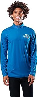 Ultra Game NBA Men's Active Long Sleeve Quarter-Zip Shirt X-Large