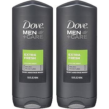 Amazon Com Dove Men Care Body Wash Extra Fresh 13 5 Oz Twin Pack Beauty