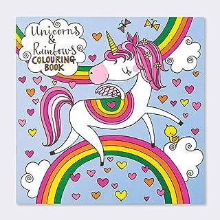 Unicorns & Rainbows Colouring Book