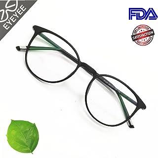 Reading Glasses Round Computer Readers for Women Men Eyeglasses Frames for Prescription Lens