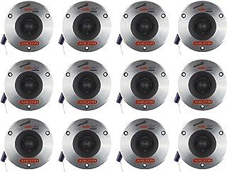 $130 » Audiopipe ATR-3721 3.75 Inch 350W Titanium Pro Car Audio Bullet Tweeters, 99 dB, 4 ohms, 175 Watts Each (12 Pack)