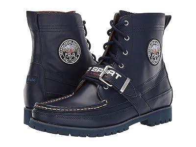 Polo Ralph Lauren Ranger (Navy/Navy Leather/Leather) Men