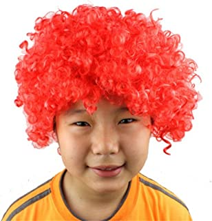 Queenbox Children Colorful Wig for Carnival, Halloween, Christmas