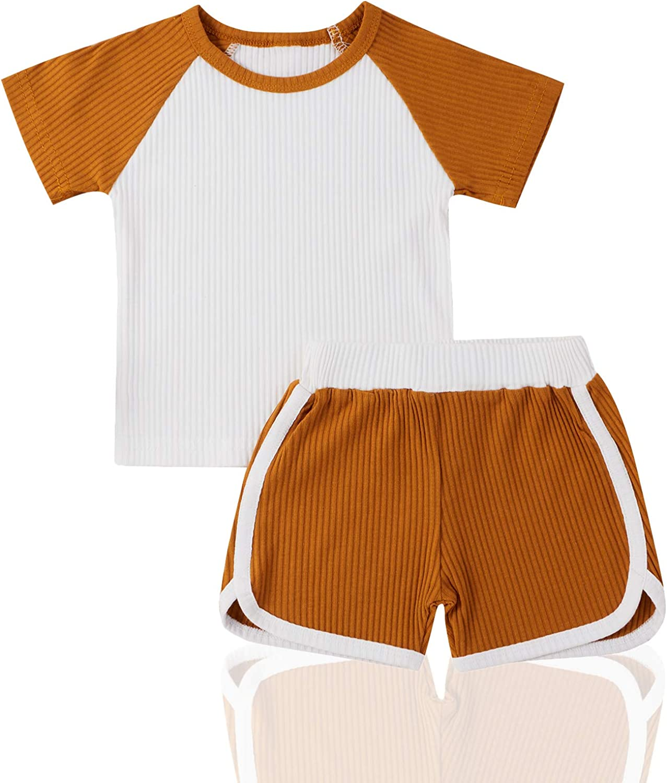 Aweyoo Baby Pajama Set Toddler Girls Pajamas Tie Dye Boy Pants Set Sleepwear Winter Outfits
