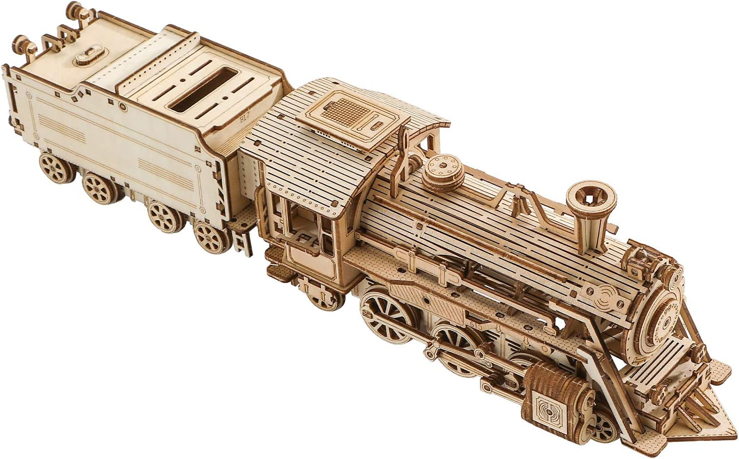 3D Wooden Puzzle Great interest Luxury Steam Puzzles Train Adults for - Max 82% OFF