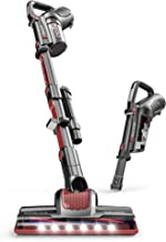 ROOMIE TEC Cordless Stick Vacuum Cleaner with Stand-Alone Battery, HEPA Filter for Pet Hair, 2 in 1 Handheld Dust Buster with Powerful Suction, Low Reach Design & LED Headlights (Renewed)