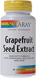 Solaray Grapefruit Seed Extract Immunity Formula Capsules, 250 mg | 60 Count