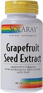 Solaray Grapefruit Seed Extract Immunity Formula Capsules, 250 mg, 60 Count