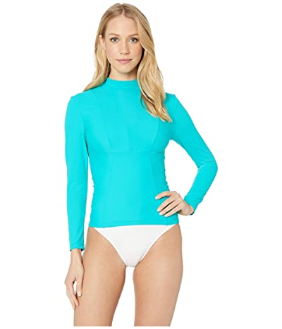 MIKOH SWIMWEAR Lowers Top (Maui Blue) Women