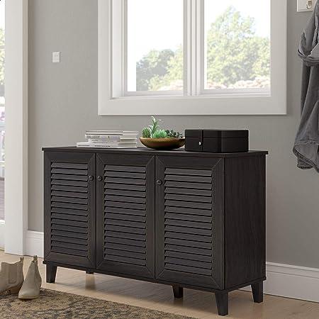 Tellier Shoe Storage Cabinet Home Kitchen
