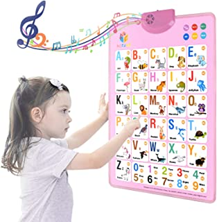 MOFANG Electronic Interactive Alphabet Wall Chart,...