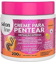Salon Line - Linha Tratamento (Creme Para Pentear) - Definicao Intensa 200 Gr - (Salon Line - Treatment (Combing Cream) Collection - Intense Definition Net 7.05 Oz)