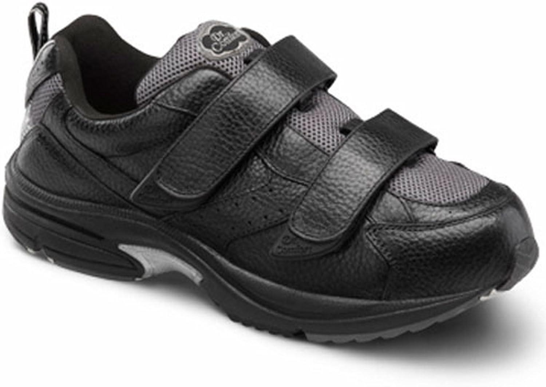 DR. COMFORT Winner Winner Winner -X Män's Terapeutic Diabetic Extra Depth skor  svart 7 bred (W  4E) Velcro  snabb frakt och bästa service