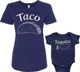 Taco & Taquito Infant Bodysuit & Women's T-Shirt Matching Set