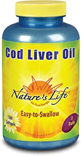 Nature's Life Cod Liver Oil Concentrate | 180 ct