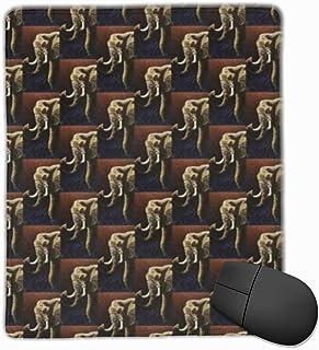 N\A Alfombrilla de ratón de Oficina de Cyefuzhuang, Elefante Encantador Llamado Future Primitive, Alfombrilla de ratón par...