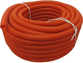 Absolute USA SLT14OR 1//4-Inch x 100-Feet Split Loom Tube Orange