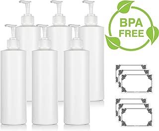 Best 500ml white plastic bottle Reviews