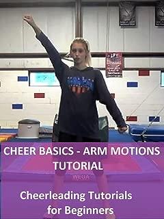 Cheer Basics: Arm Motions Tutorial - Cheerleading Tutorials for Beginners