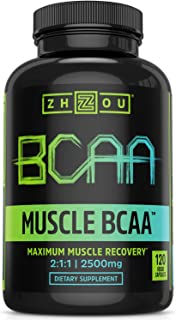 Sponsored Ad - Zhou Muscle BCAA | Branched Chain Amino Acids | Build Muscle, Improve Recovery, and Increase Endurance | 30...