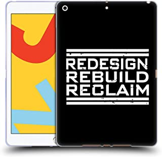 Official WWE Redesign, Rebuild, Reclaim Seth Rollins Soft Gel Case Compatible for iPad 10.2 (2019)