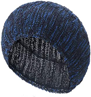 TEFITI Womens Pearl Snood Hairnet Headcover Knit Beret Beanie Cap Headscarves Turban-Cancer Headwear for Women