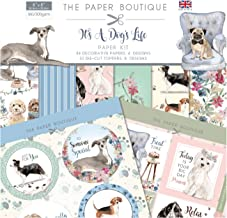 Multicoloured Paper Boutique Its a Dogs Life-Paper Pad 8 x 8 inches