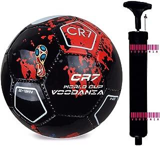 Voodania Avatoz Brazuca Replica Football - Size: 5, Diameter: 26 Cm(Pack Of 1, Multicolor)