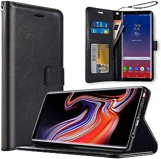 saii Premium Funda para Samsung Galaxy Note9 [Estilo Libro y Cierre Magnético] Cartera Carcasa para Galaxy Note 9 Funda Clásica para Samsung Galaxy Note9 - Negro