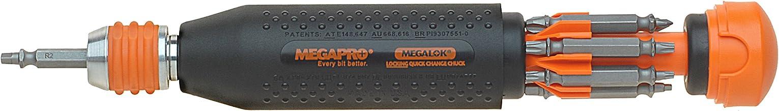 product image for Megapro 181ML 14-In-1 MegaLok Driver, Black Orange