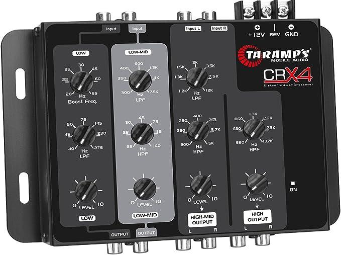 Black Taramps DTX24S Digital Electronic Crossover
