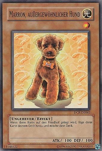 DCR-DE062 - braun, Au gew licher Hund - Common - Yu-Gi-Oh - Deutsch - 1. Auflage