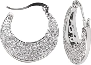 Vogue Zircon Stud earring For Women, Hoop
