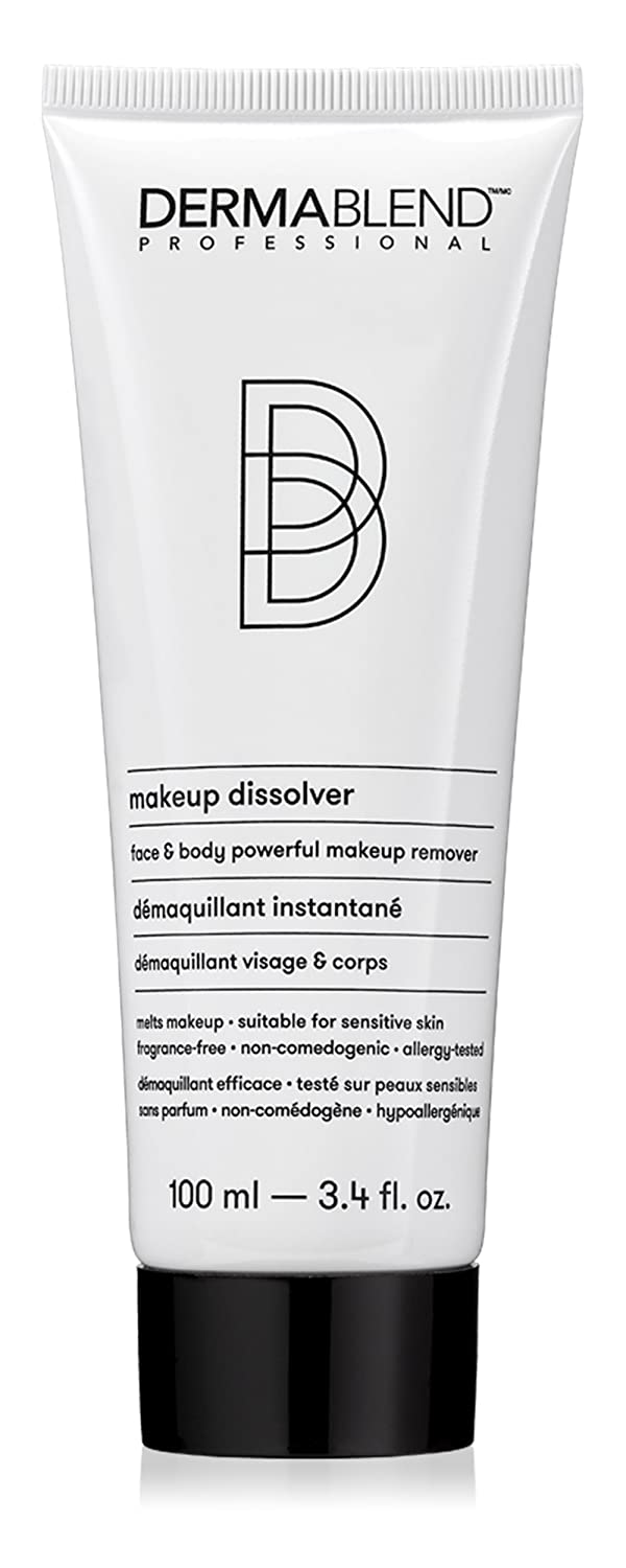 Dermablend Makeup Remover Dissolver for Face and Body, 3.4 Fl Oz: Premium Beauty
