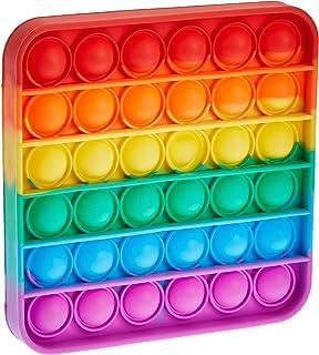 Konfulon Push Pop bubble sensory decompression toys, autism special needs to relieve pressure silicone pressure toys, sque...