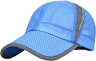 Ohrwurm Unisex Mesh Tennis Cap Outdoor Anti-UV Quick Dry Adjustable Running Baseball Hat