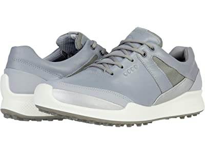 ECCO Golf Biom Hybrid I Hydromax (Silver Grey/Silver Metallic/Yak Leather/Synthetic) Women