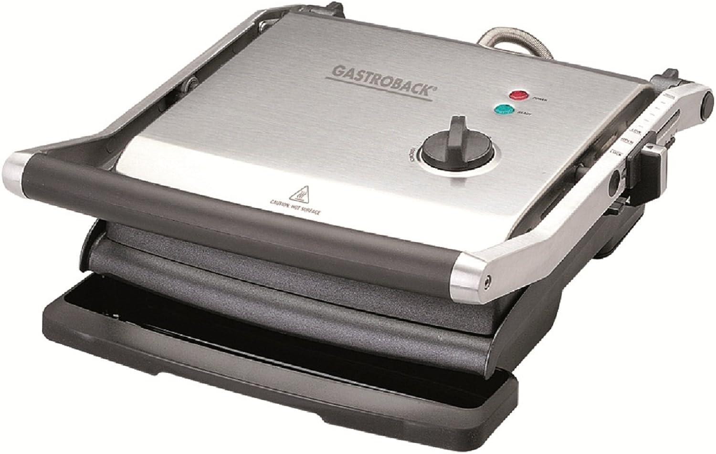 alto descuento Gastroback 42514 Health Smart Grill Pro - Plancha Plancha Plancha de cocina eléctrica (2200 W, cocina sin grasa, intensidad ajustable)  tienda en linea